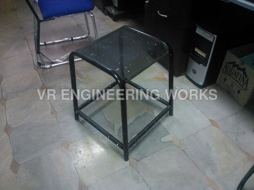 Steel Square Stool