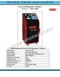 Recovery Recharge Gas AC Machine