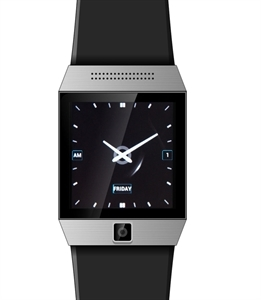 Smartphone Smart Watch Android 4.0 MTK6577 Dual Core 1.5 Inch GPS 5.0 MP Camera