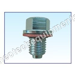 Drain Plug Flanged Magnetic