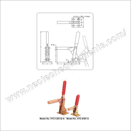 Heavy Duty Clamps Angle Base