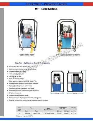 Electric Power Packs
