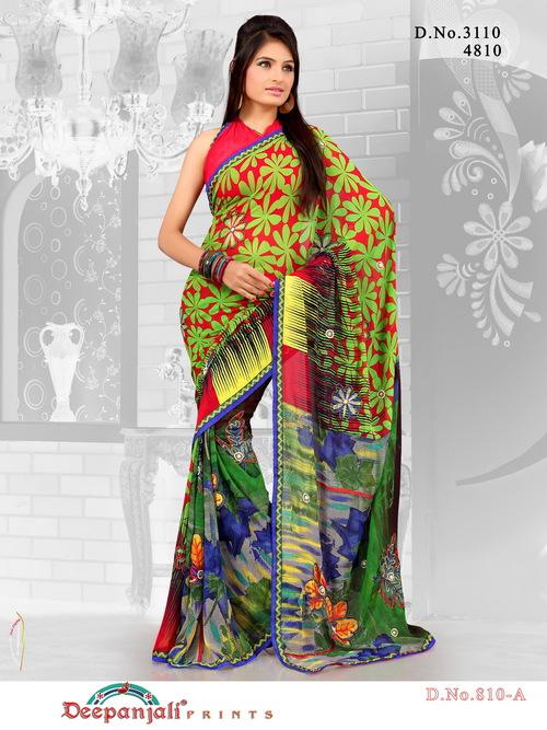 Exclusive Fancy Work Saree