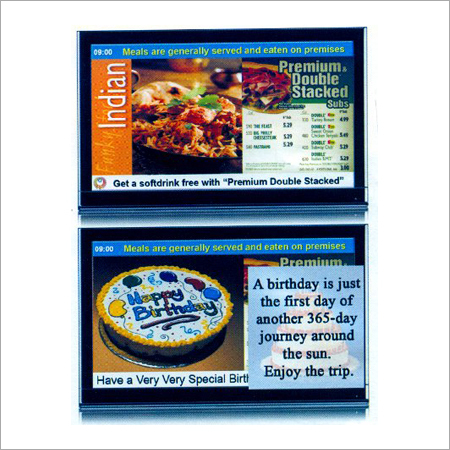 Restaurant Digital Signage Solution