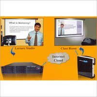 Digital Signage for LIVE Lecture Studio