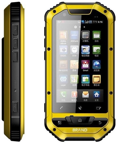 Small Submarine IP67 Rugged Waterproof Dustproof Shockproof 3G Android 4.0 Dual SIM 5MP GPS