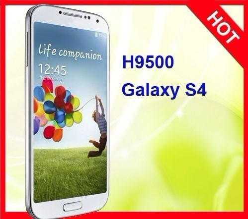 H9500+ Galaxy S4 MTK6589 Quad Core 5 inch Android 4.2 OS IPS Screen Smart Phone