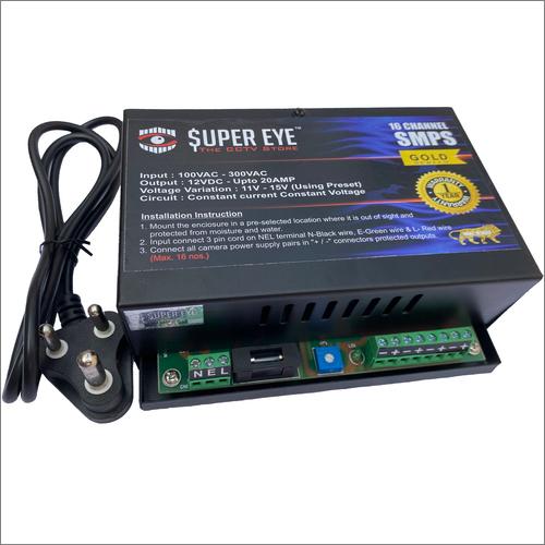 CCTV Power Supply 16 CH