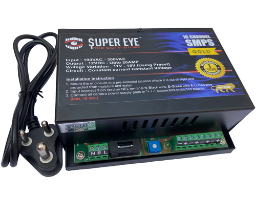 Cctv Smps Gold Series
