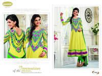 Ladies Anarkali suit This is suave latest catalog