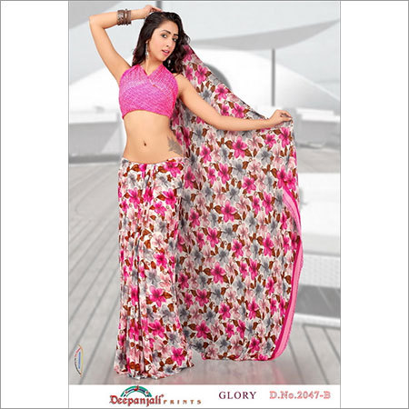 Flower Saree