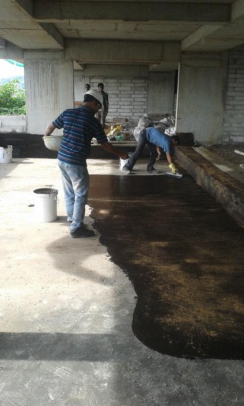 Waterproofing at Floor