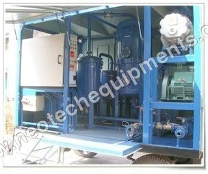 Transformer Oil Filtration & Dehydration Plant