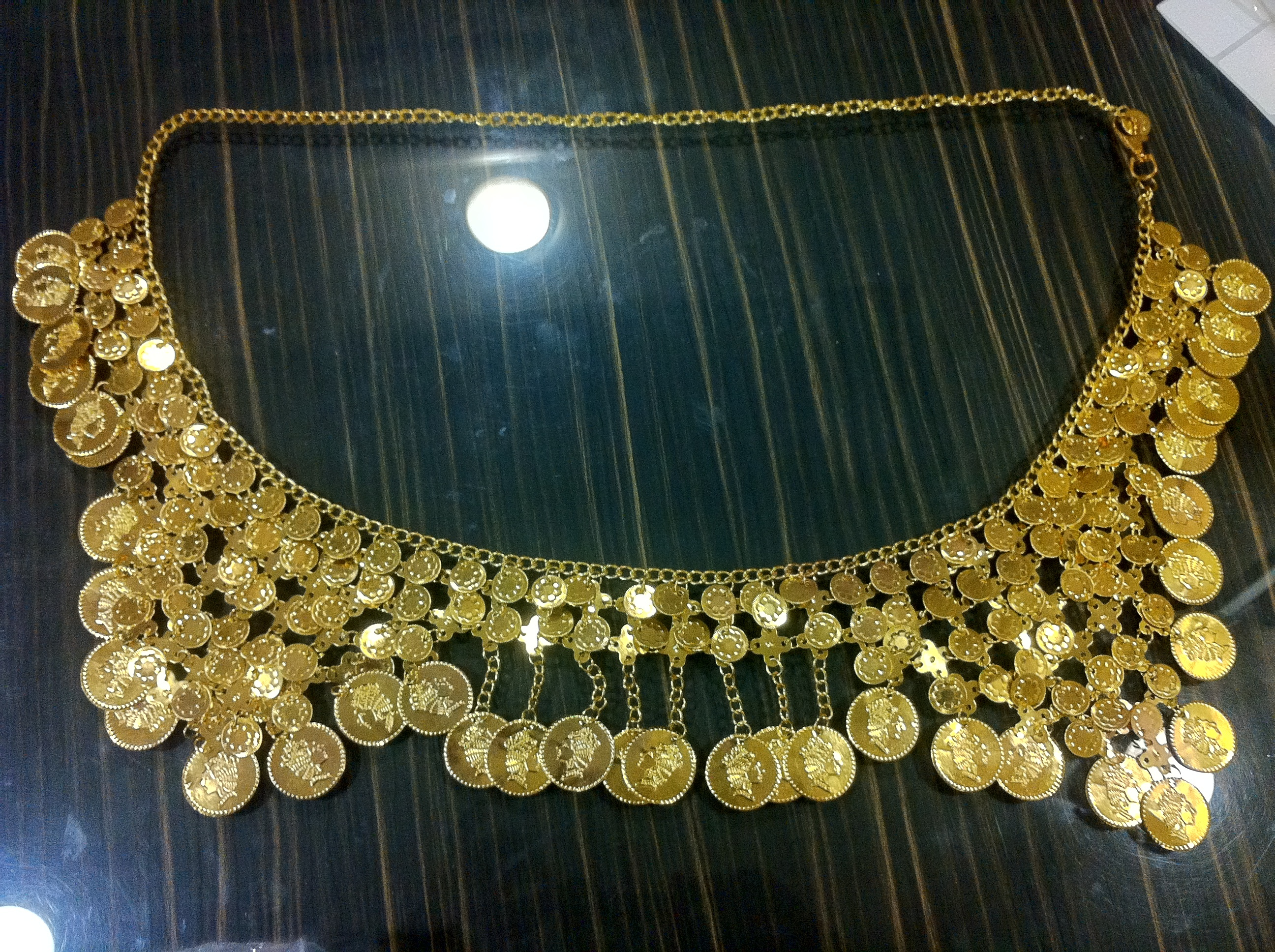 Gold Coin Belt for Belly Dance