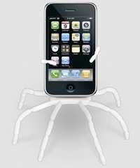 Spiderpodium Stand for iPhone, iPod, Cellphone, & More