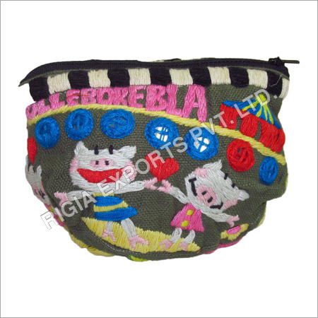 Colorful Designer Pouch Bag