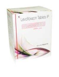 Levofloxaxin 500 mg. Tab.