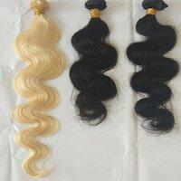 Unprocessed Deep Wave Bulk Temple Hair