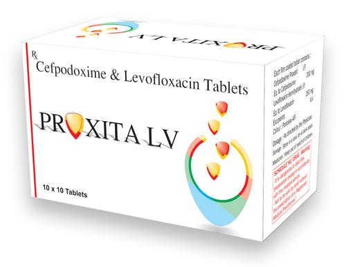 Cefpodoxime 200mg + Levofloxacin 250mg