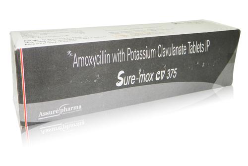 Amoxycillin with Potassium Clavulanate Tab.