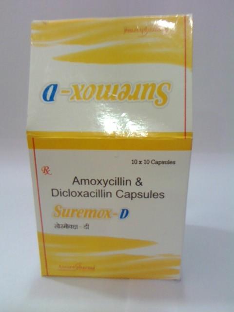 Amoxycillin & Dicloxacillin tab