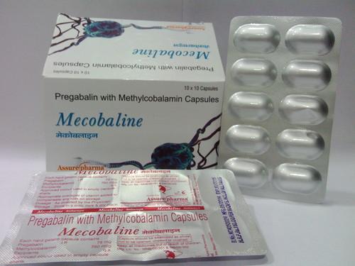Mecobalamine & Pregabalin capsules