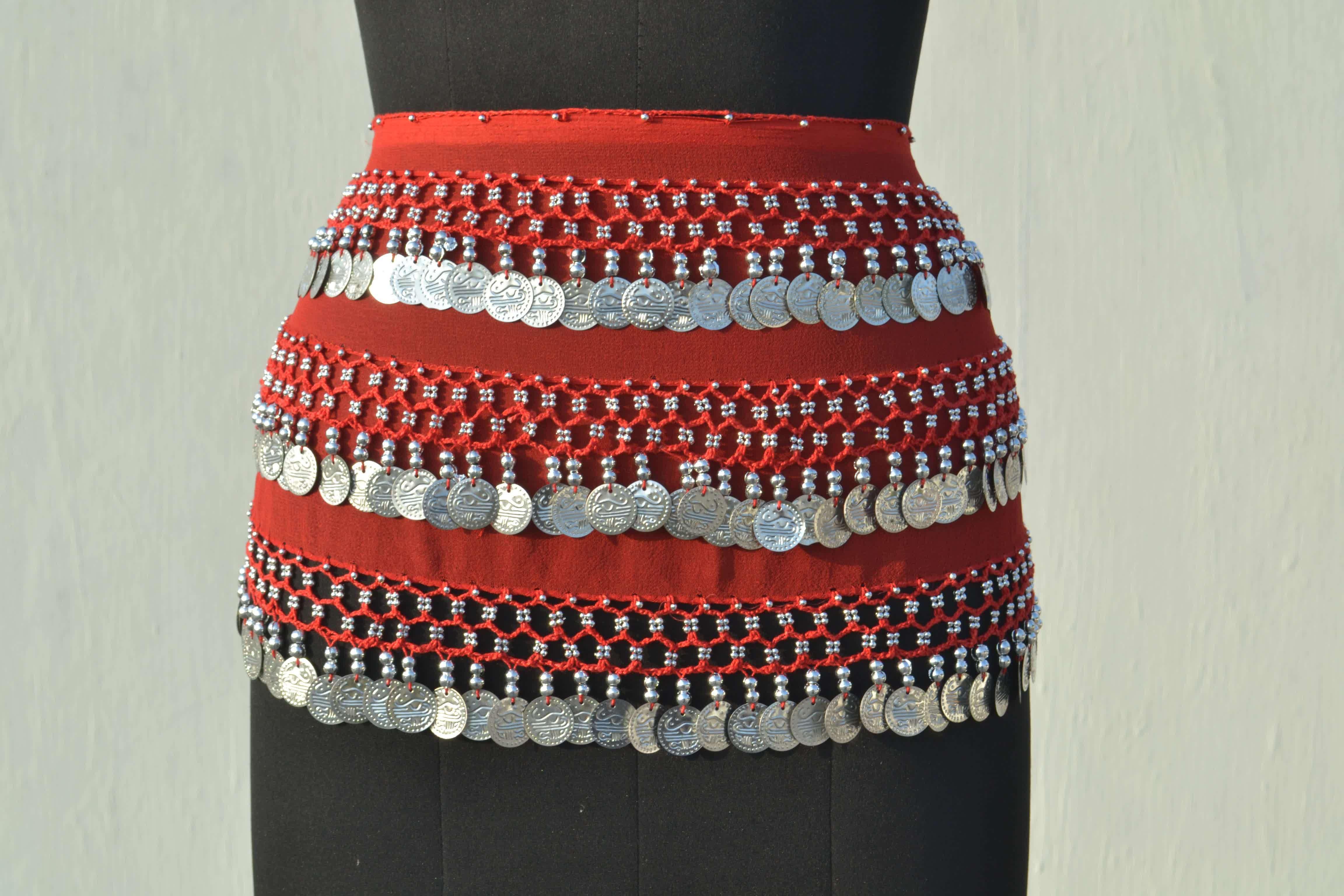 Belly Dance Red Belts