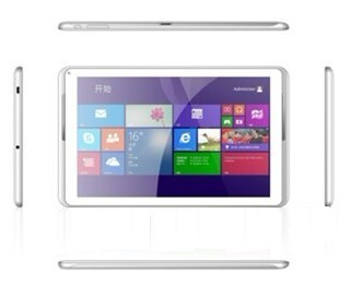 10.1 inch Tablet with Intel Atom Z3735G QuadCore Processor Android 4.4 Windows 8.1