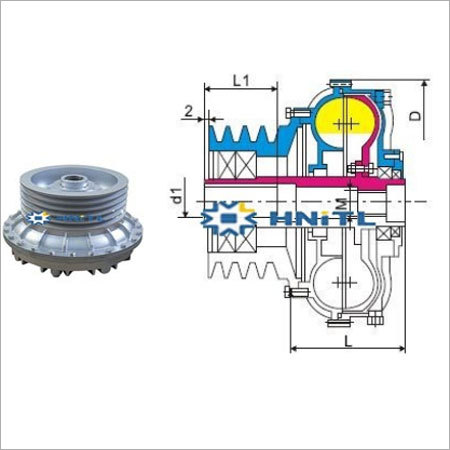 Hydraulic Fluid Coupling
