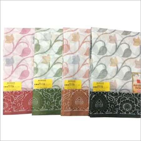 Cotton Printed Indian Sarees