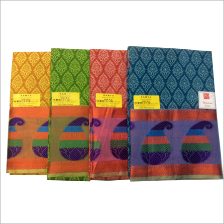 Embroidery Cotton Sarees
