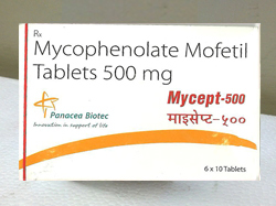 Mycophenolate 500mg