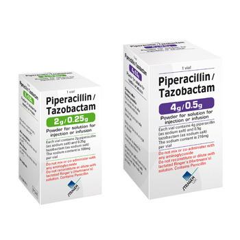 Piperacillin 4 G + Tazobactam 0.5 G