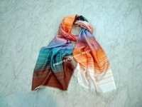 Silk modal woven scarves