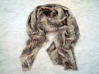 Silk wool printed scarves