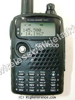 KENWOOD walkie talkie TH-F7E