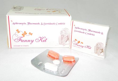 Azithromycin, Fluconazole & Secnidazole Combi Kit