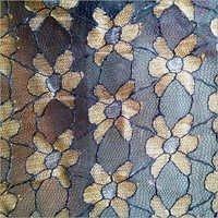 Designer Knitted Rachel Zari Net Fabrics