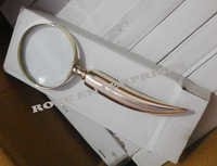 Brass Horn Shape Magnifying Glass