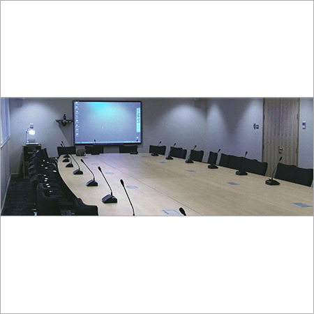 Conference Hall Audio System