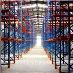 Fabricated Storage Shelves