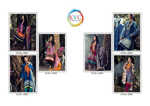Straight Salwar Kameez (KVC)