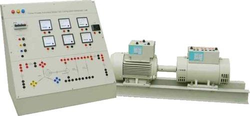 Induction Motor Compound Generator Lab