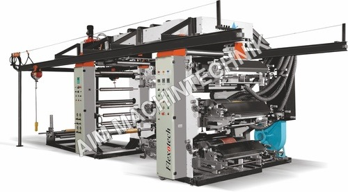 Flexographic printing machine - 3 drive