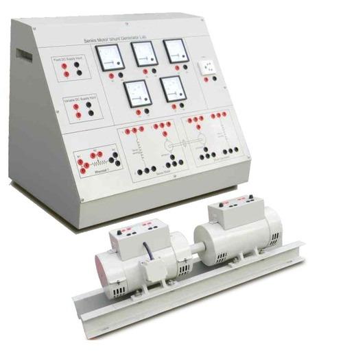 DC Series Motor Shunt Generator Lab