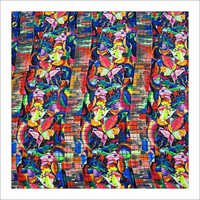 Printed Georgette Fabric