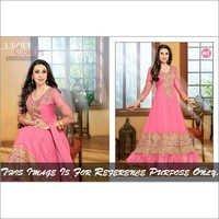 Pink Anarkali Suits