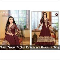 Maroon Anarkali Suits