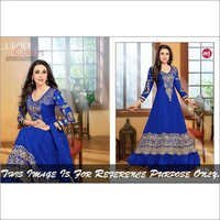 Blue Anarkali Suits