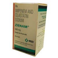 Zienam 500 mg Injection
